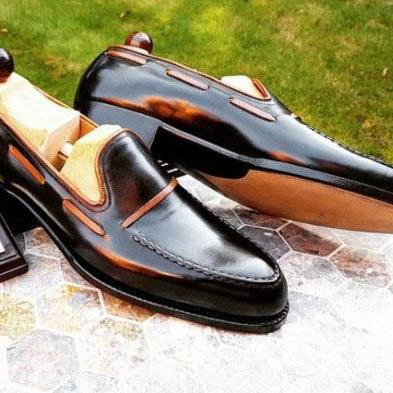 Men Casual Dressing Double Loafer S..