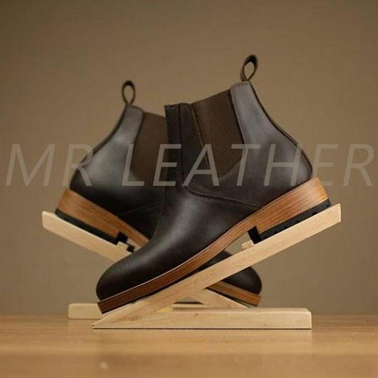 Men Adult Dressing Best Choice Handmade Chelsea Leather Boot